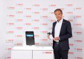 Dr. Volkmar Denner, Vorsitzender der Geschäftsführung bei Robert Bosch, stellte auf der Bilanzpressekonferenz die Vorhaben des Unternehmens vor. (Bildquelle: Bosch)