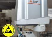 Für den deutschen Markt sind die Geräte nun unter gesonderter Artikelnummer in ESD-fähiger Ausführung mit Zertifikat bestellbar. (Bildquelle: Mitsubishi Electric)