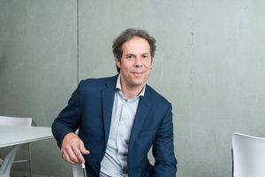 Stéphane Roussel, Geschäftsführer von Solvay Ventures, einem weiteren Investor des Start-ups. (Bildquelle: Solvay)
