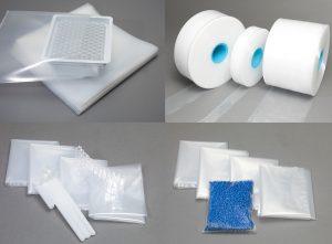 Folien und Beutel für das Verpacken im Reinraum. (Bildquelle: Strubl)