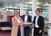 Der Vorstand der Warema Group (v.l.): Angelique Renkhoff-Mücke, Michael Müller und Christian Steinberg (Bildquelle: Warema)