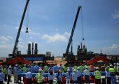 BASF hat mit Bau erster Anlagen des High-Tech-Verbundstandorts in Zhanjiang/China begonnen. (Bild: BASF)