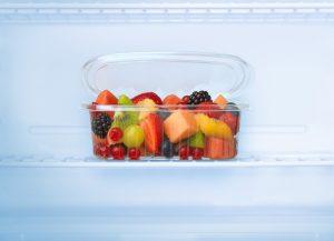 Verpackungsbeispiel einer PLA-basierten Lebensmittelverpackung mit Barriere-Additiv. (Bildquelle: BYK)