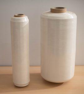 Duo Earth 4: Die 8 µm starke Stretchfolie ist für das manuelle und das maschinelle Umwickeln der Paletten geeignet. (Bildquelle: Duo Plast)