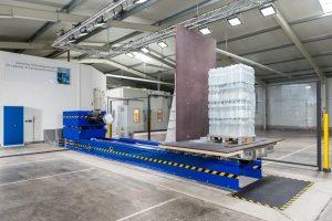Im Duo Lab werden unteranderem die horizontal auf die Ladungseinheit wirkenden Kräfte ermittelt. (Bildquelle: Duo Plast)