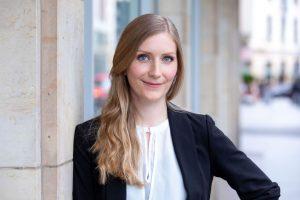 Victoria Rothleitner ist Geschäftsführerin von Polytives, dem Clustersieger Chemie/Kunststoff des IQ Innovationspreis Mitteldeutschland 2020. (Bildquelle: Tom Schulze)