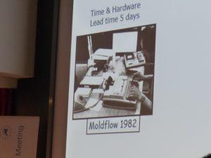 Datenübertragung per Modem: Langwierig und interpretationsbedürftig verliefen die frühen Kunststoff-Spritzguss-Simulationen. (Bildquelle: Novo Nordisk)