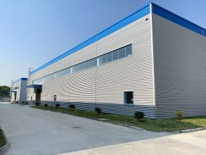 Das dritte Gebäude in Kunshan wurde Anfang 2020 in Betrieb genommen. (Bildquelle: Polykemi)
