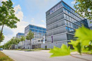 Die neue Firmenzentrale von Röhm in Darmstadt. (Bildquelle: Röhm)