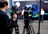 Die Vorträge der 360-Grad-Days wurden live aus dem Technologiezentrum übertragen. (Bildquelle: Vecoplan)