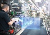 5G in der vernetzten Industrie. (Bildquelle: Bosch)
