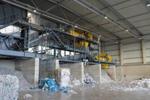 Mit der neuen Sortieranlage in Salzgitter soll der Wertstoffkreislauf für LDPE weiter geschlossen werden. (Bildquelle: Veolia)