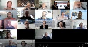 Ende Juni fand das virtuelle Netzwerkmeeting mit den Partnerunternehmen von Innonet Kunststoff statt. (Bildquelle: Innonet, Cirp)