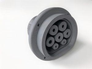 3D-gedruckter Stecker (Bildquelle: Lehvoss)