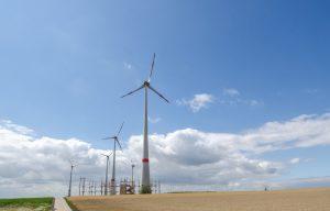 Energiegewinnung durch Großwindkraftwerke – nicht ohne Kunststofftechnik (Bild: IKT)