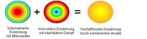 Bild 7. Ein neues Verfahren kombiniert Konvektion und Mikrowellen für eine energieeffizientere Trocknung (Bild: IKT)