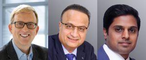 Dr. Philip Nising, President und CEO von Buss, Bharath Yalla, Geschäftsführer von Reifenhäuser Middle East and Africa und Geschäftsführer von Reifenhäuser India Marketing PVTManish Mehta. (vlnr, Bildquelle: Buss)