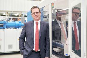 Dr. Volker Nilles übernimmt die Leitung der Division Neumaschinen. (Bildquelle: Krauss Maffei)