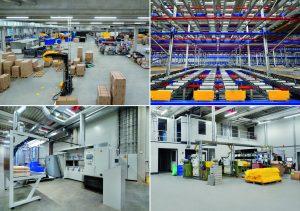 Das 8.500 Quadratmeter große neue Schaumverarbeitungszentrum wurde als Smart factory konzipiert. (Bildquelle: Foampartner)