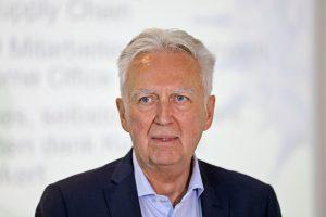 Gerhard Luftensteiner, CEO KEBA, informierte über das zurückliegende Geschäftsjahr und über die geplanten Entwicklungen im Unternehmen. (Bildquelle: KEBA, Apa-Fotoservice Hartl)