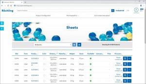 Digitales Serviceportal: Im Röchling-Port können Nutzer Bestellungen von Kunststoffhalbzeugen in Form von Platten, Rundstäben und Hohlstäben in Auftrag geben und nachverfolgen. (Bildquelle: Röchling)