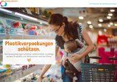 """Informationsseite """"Sicher verpackt"""" von IK Industrievereinigung Kunststoffverpackungen und Plastics Europe Deutschland. (Bildquelle: IK/Plastics Europe)"""