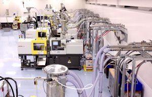 Energieeffiziente sowie hochautomatisierte Materialförderung und -bearbeitung sind ein Schlüsselfaktor in der Kunststoffverarbeitung. (Bildquelle: Piovan)