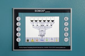 Industrie-4.0-Einsatz von Chargendosierern und Granulattrocknern (Bildquelle: Protec)
