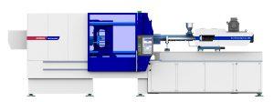 Mit der EcoPower Xpress werden Dünnwandanwendungen in der Verpackungsindustrie gefertigt. (Bildquelle: Wittmann Battenfeld)