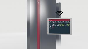 Die statischen Druckstationen werden für Zeitstandinnendruck- und Berst-prüfung mit geringem Volumen von kleinen und mittleren Proben verwendet. In einem Schrank können bis zu 50 einzelne statische Druckstationen installiert werden. (Bildquelle: Sciteq)
