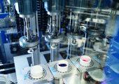 Blick auf die High Throughput Screening Anlage bei Altana, BYK-Chemie in Wesel (Bildquelle: Altana)