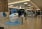 Interaktive Zonen im Footwear Innovation Center. (Bildquelle: BASF)