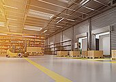 Logistikprozesse sollen ressourceneffizienter gestaltet werden. (Bildquelle: VDI ZRE/perig76;pantermedia.net)
