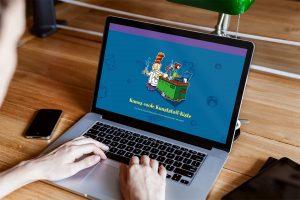 Der neue Webauftritt von Kunos cooler Kunststoff-Kiste beinhaltet Erklärvideos und Anleitungen rund um die fünf Kunststoffexperimente. (Bildquelle: Plastics Europe)