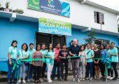 Eröffnung einer Sammelstelle für Plastikabfall in Manila, Philippinen. (Bildquelle: Greiner Packaging)