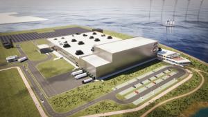 Innocent baut im Hafen von Rotterdam eine CO<sub>2</sub>-neutral Fabrik zum Abfüllen von Smoothies. (Bildquelle: Innocent)