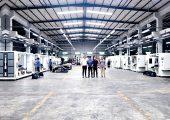Im Produktionswerk in Huizhou werden auf rund 8.500 Quadratmetern seit 15 Jahren Ultraschall-Sondermaschinen entwickelt und produziert. (Bildquelle: alle Sonotronic)