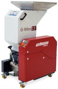 Die Schneidmühle bewältigt einen Materialdurchsatz von bis zu 35 kg/h. (Bildquelle: Wittmann)