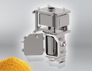 Der Metallseparator sorgt in der Kunststoffindustrie insbesondere bei Granulatherstellern und Compoundeuren dafür, dass Metalle zuverlässig erkannt und aus dem Produktionsprozess separiert werden. (Bildquelle: Sesotec)