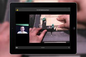 Die Software verfügt über eine Smart-Glasses-Unterstützung, virtuelle Konferenzräume sowie einen Chat mit automatischer Sprachübersetzung. (Bildquelle: Technotrans)