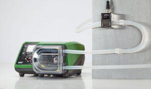 Die Pumpen verfügen auch über eine direkte Schnittstelle zu Druck- und Durchflusssensoren von Fremdherstellern und ermöglichen so den Zugriff auf Sensordaten über das Netzwerk. (Bildquelle: Watson-Marlow Fluid Technology )