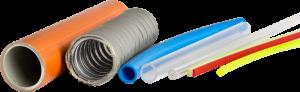 Einsatzgebiet für die Systeme ist der Produktionsbereich Kunststoff- und Gummiextrusion zur Herstellung von Schläuchen, Rohren, Profilen und Streifen. (Bildquelle: Rolf Schlicht)