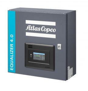 Die Kompressorsteuerung ist in zwei Versionen verfügbar: als wandmontierte Version mit einem Touch-Display oder als direkt in die Kompressorsteuerung des Unternehmens integrierte Variante. (Bildquelle: Atlas Copco)