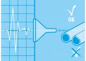 Nur durch fundiertes Kunststoffwissen und Gefühl für die vorliegende Fragestellung lässt sich ein ganzheitliches Prüfsystem anbieten, bei dem der Anwender keine Messdaten auswerten muss (links), sondern die pragmatischen Kennwerte erhält, die ihn eigentlich interessieren (rechts). (Bildquelle: SKZ)