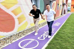 Neue Polyurethan-Laufstrecke mit CO₂-Technologie am Covestro Innovations- und Forschungszentrum in Shanghai. (Bildquelle: Covestro)