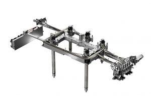 Die neue Technologie in einer Hybridausführung, bei der nur bestimmte Hydraulikaktuatoren damit ausgestattet sind. (Bildquelle: HRS Flow)