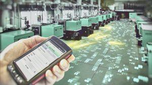 Die Vernetzung und Überwachung von Maschinen gemäß Industrie 4.0 sind wichtige Schritte zur Smart Factory. (Bildquelle: Arburg)