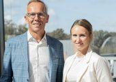 Ann-Katrin und Ralph Weidling führen Kleb- und Dichtstoffhersteller als Doppelspitze. (Bildquelle: Weicon)