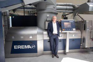 """""""Wir blicken weiterhin positiv in die Zukunft"""", sagt Manfred Hack, Geschäftsführer Erema."""