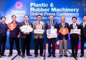 Podiumsteilnehmer der Taiwan Excellence Plastic & Rubber Machinery Online-Pressekonferenz (Bildquelle: alle Taitra)